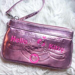 Hello kitty wristlet wallet